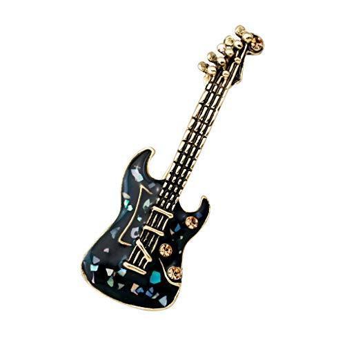 Pandiki Los Hombres de la Guitarra eléctrica Broche del Pin de la...