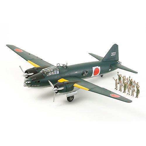 TAMIYA 300061110–1: 48WWII Mitsubishi G4M1Model 11(17), Airplane