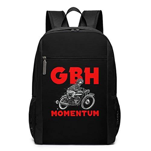 Mochila escolar de viaje, mochila cargada GBH, perfume, mochila de viaje, escuela, bolsa de hombro, portátil, para hombres, mujeres y niños