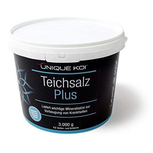 Unique Koi Teichsalz Plus 3000 g zur Minderung von osmotischem Stress