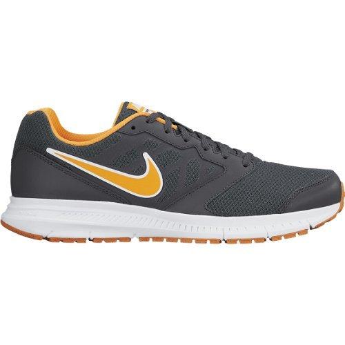 Nike Downshifter 6 MSL Scarpe da Corsa, Uomo, Grigio/Arancione/Bianco, 40