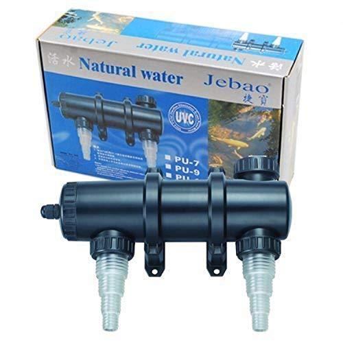 Jebao PU-13 Ultraviolet Clarifier Up to 2,000 gal, 13W UVC