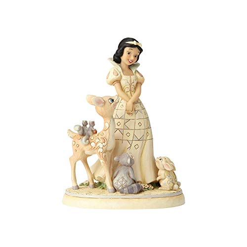 Disney Traditions Forest Friends-Snow White Figurine Ornament, Mehrfarbig, One Size