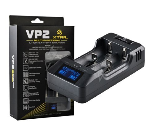 Chargeur DE Batterie LI-ION Multifonctionnel - 2 Batteries