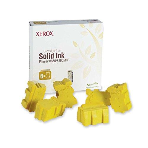 Xerox Phaser 8860MFP–Original Xerox 108R00748–Cartucho de tinta sólida amarillo -14000páginas
