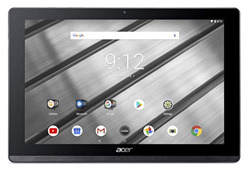 Acer Iconia One 10 B3-A50 Tablet (MediaTek 8167A Cortex A35 1.3GHz Processor, 2 GB RAM, 16GB eMMC, 10.1 inch HD Display, Android 8.1, Iron) (Renewed)