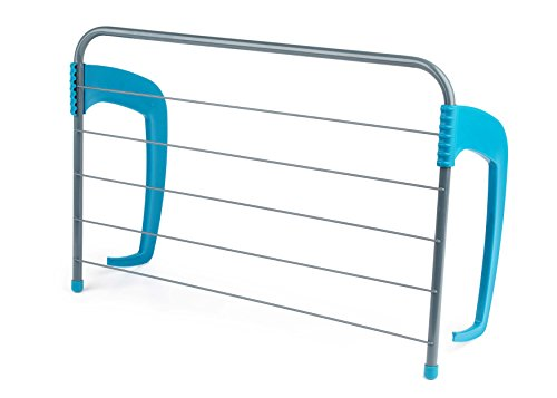 Beldray LA027535TQEU 6-Bar Radiator Attachable Airer for Hand Towels or Clothes, Holds up to 3 KG
