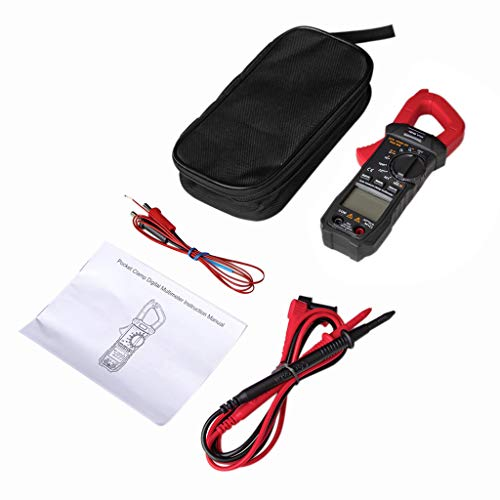 BIlinli 6000 Counts True RMS Clamp Meter Digital Multimeter w/Square Wave Output Diode