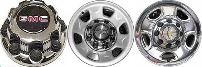 New Chevy Silverado 2500 Chrome Style 1999-2019 Wheel Center Cap 5075 8.5 Inch