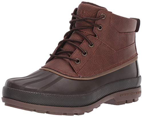 Sperry Mens Cold Bay Chukka Boots, Brown/Coffee, 11.5 Wide