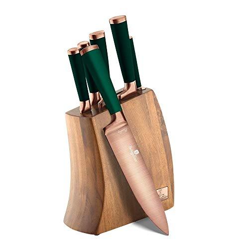 Berlinger Haus, juego de cuchillos de 7 piezas con soporte de madera