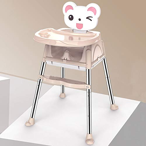 Find Discount Jiu Si- Baby high Chair - Stainless Steel, 6 Months - 4 Years Old Baby Multi-Function ...