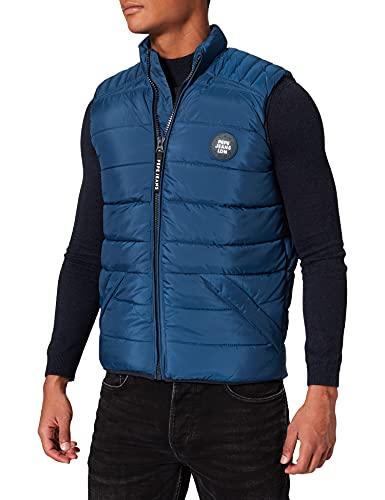 Pepe Jeans Heinrich Vest Chaqueta, Azul, M para Hombre
