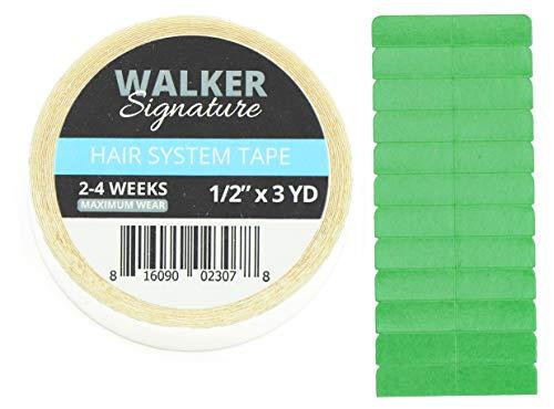 Walker Tape Support Tape Rolls Klebeband für Tape In Extensions & Zweithaar Royal Tape SET 3yrd Für Alle Haarsysteme Perücken & Toupets (SIGNATURE)