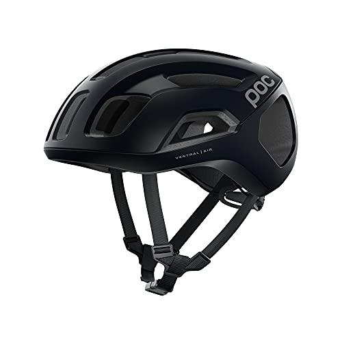 POC, Ventral Air Spin Bike Helmet for Road Cycling, Uranium Black Matt, Medium