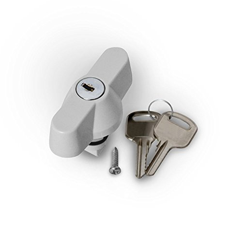 Sicherheitsschloss mit Schlüssel für ARLI Schaltschrank Industriegehäuse Gehäuse Leergehäuse ABS Kunststoff Sicherheitsschloß Schloss Zylinder anschließbar schloß