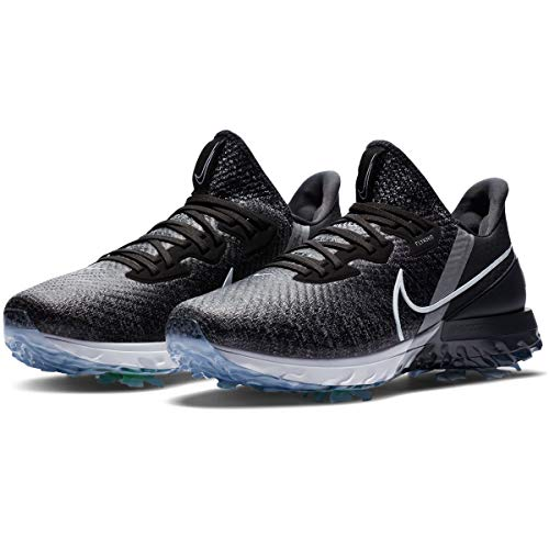 Nike Air Zoom Infinity Tour Golf Shoes (Black/White, Numeric_10_Point_5)
