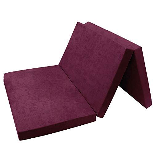 Fortiline Opvouwbare matras, gastenmatras 19 Violet XXL - 195x120x9cm W396_19