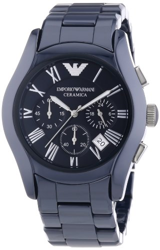 Emporio Armani Herren-Armbanduhr XL Chronograph Quarz Keramik AR1469