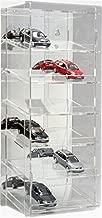 SORA 1:43 Torretta espositiva per modellini auto con pannello posteriore a specchio