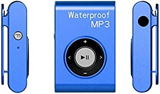 Digital Media Players IPX8 Waterproof Swimming Diving Sports MP3 Music Player with Clip & Earphone, Support FM, Memory:8G...