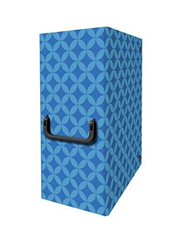 Arca 0263BL Cartella Portaprogetto con Maniglia, Dorso 20 cm, Blu