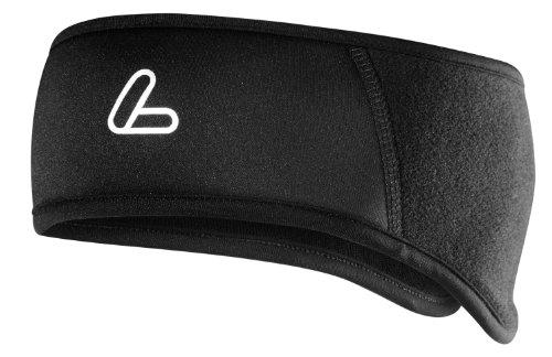 Löffler Stirnband Windstopper Warm Fleece, schwarz, 1