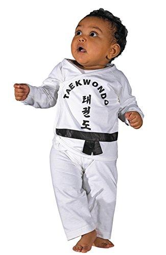 Kwon Baby Strampler mit verschiedene Motive Taekwondo - Karate - Judo - JuJutsu - YingYang Balance - YingYang Silence
