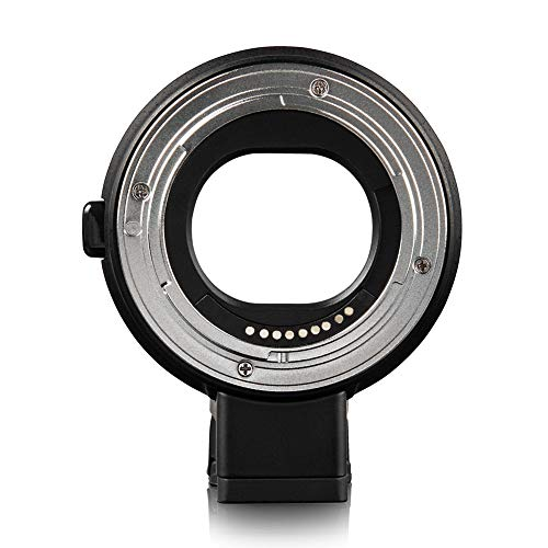 Anillo Adaptador de Lente AF EF-EOS M, para Lente Canon EF EF-S para cámara sin Espejo Canon EOS M