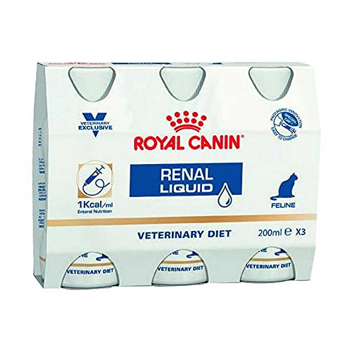 Royal Canin Veterinary Diet Cat Renal Liquid 3 x 200 ml ⭐