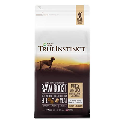 NATURES - True Instinct Raw Boost Turkey with Duck for Adult Dogs - 1.5kg - EU/UK