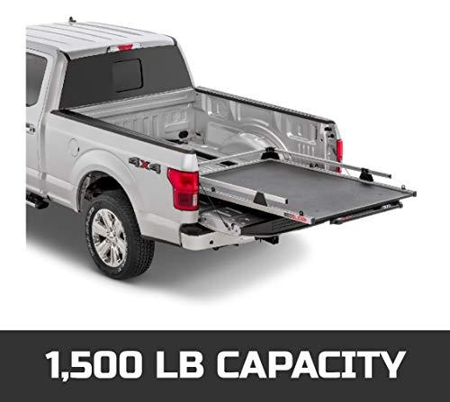 "BEDSLIDE CONTRACTOR (75"" X 48"") | 15-7548-CG | Durable Sliding Truck Bed Cargo Organizer | MADE IN THE USA | 1,500 lb Capacity (Silver)"
