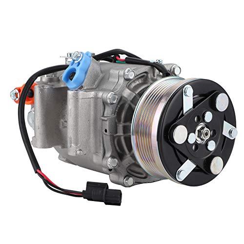 aqxreight - Compresor de CA de aluminio con embrague 38810RNAA02 apto para 1.8L 2006-2011