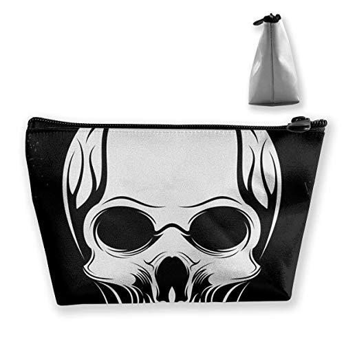 Badass Skulls Schnorchel Praktische Kosmetik Aufbewahrungstaschen, Mode Badass Skulls Schnorchel Schmuck Aufbewahrungstaschen