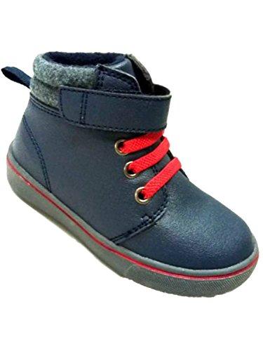 Garanimals Toddler Boys Blue & Red Work & Hiking Boots Shoes 5