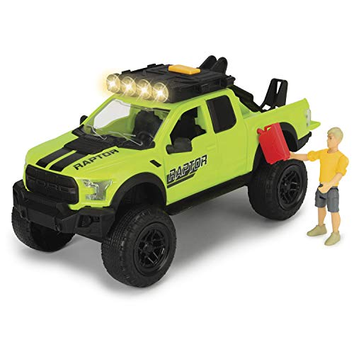 Set L Playlife Mountain Bike Ford Raptor con figura y accesorios (Dickie 3835003)