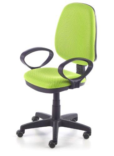 duehome Silla de Oficina Silla Escritorio tapizado 3D Color Verde