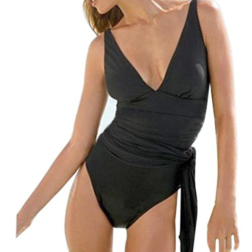SHOBDW Moda Bikini Mujer Push up Talle Alto impresión 2017 Traje de...