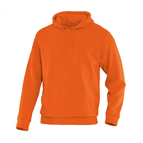 JAKO Sweat-Shirt à Capuche pour équipe Large Orange