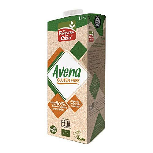 la FINESTRA sul CIELO Bebida De Avena Bio Gluten Free - 1L (Cja. 6 Ud. - Total: 6 Litros) (6 x 1.00 l) (1FREBEAV)