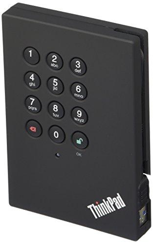 Lenovo 0A65621 1TB ThinkPad Externe Festplatte (6,4 cm (2,5 Zoll), 5400 rpm, USB 3.0) schwarz