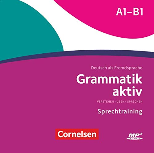 GRAMMATIK AKTIV A1-B1 MP3-CD: MP3-CD zur Übungsgrammatik