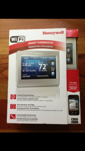 honeywell wi fi smart thermostat 9cavers. Black Bedroom Furniture Sets. Home Design Ideas