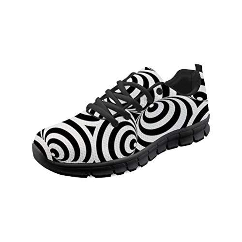 MODEGA Bunte Schuhe für Männer Turnschuhe Reise Schuhe für Frauen große Breite Bowlingschuhe Weinlese kühlen Schuhe bequem Laufschuhe Bowling Größe 44 EU|9 UK