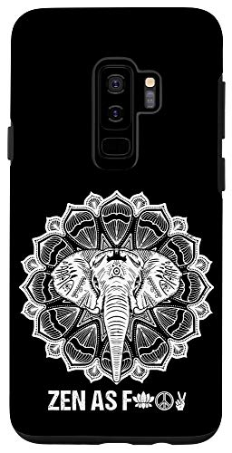 Galaxy S9+ Elephant Zen AF - Zen Meditation Buddhist Yoga Phone Case