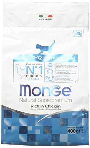Monge Gatto Natural superpremium Kitten Pollo 400 gr