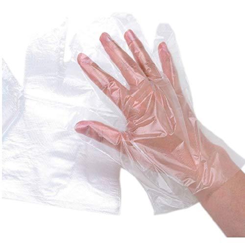 Handschuhe Einweg Dünne Einmalhandschuhe – Plastik Transparent Puderfrei Einweghandschuhe (400)