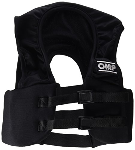 OMP OMPKK040010XS071 Protector Costilla, Negro, Talla XS