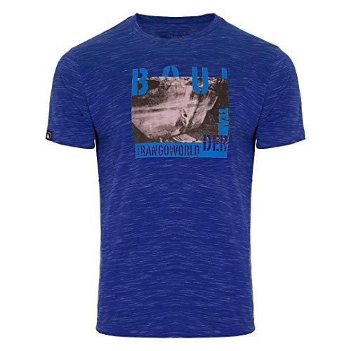 Trangoworld Derver Dn T-Shirt Homme, Bleu foncé, XXXL