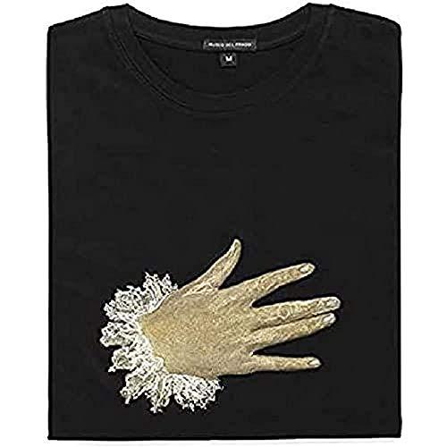 Museo del Prado Camiseta del Museo del Prado, Camiseta Unisex adulto, Negra, Talla XL